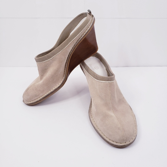 COLE HAAN Wedge Mules 8.5